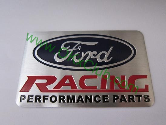 Ford Racing Performance Parts >> Ford Racing Performance Parts Emblem Badge Sticker Decal 8 X 5cm