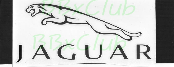 Japan Jaguar Racing Car Motors Bike Black Decal Sticker 3 29